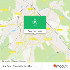 sport fitness center in sibiu by bus