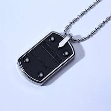 bio energy quantum dog tag pendant