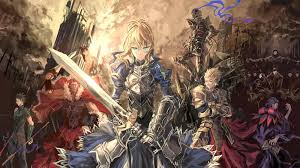 wallpaper anime saber gil armor