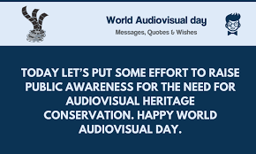 world audiovisual day best messages quotes greetings