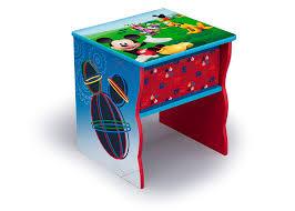 Toddler Bed Bookcase Side Table Bedding Set Storage Bins Bonus Sheet Set Disney Mickey Mouse Toddler Room Set 6 Piece Bedding Sets