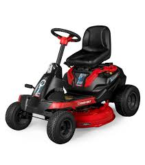 troy bilt s new electric riding mower