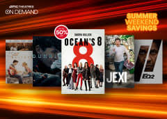 amc theatres video on demand offers