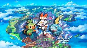 Pokemon Sword And Shield Sobble Grookey Scorbunny UHD 4K Wallpaper ...