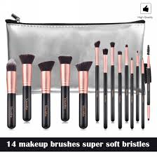 14pcs makeup brushes sets with case