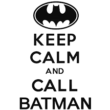 Keep Calm And Call Batman Decal Sticker