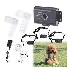 2 Or 3 Dogs Underground Electric Dog Fence Waterproof Shock Collars Walmart Com Walmart Com