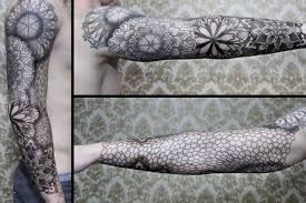 Tatuaz Rekaw Z Sieci