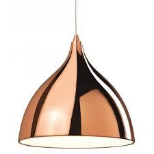 ceiling pendant light in copper finish