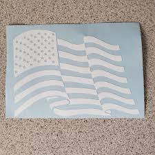 American Flag Vinyl Decal Killer Tendencies Apparel