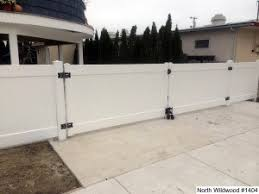 Vinyl Faced Rolling And Swinging Gates Photo Gallery Dennisville Fence
