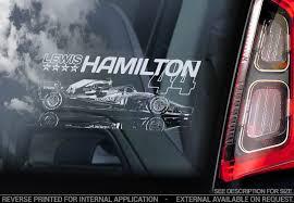 Lewis Hamilton Decals