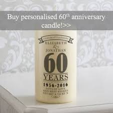 60th year wedding anniversary gifts and