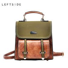 leftside cute small leather travel