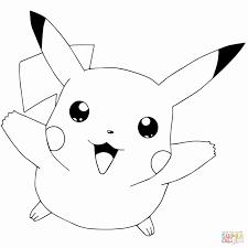24 Pikachu Printable Coloring Pages In 2020 Met Afbeeldingen