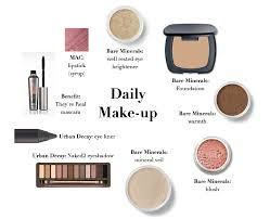 my daily makeup routine a lovely living