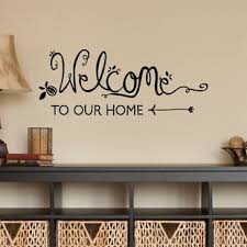 Welcome Decal Wayfair