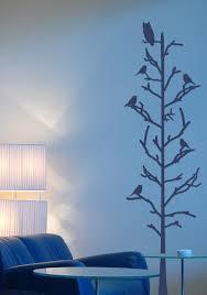 Alphabet Garden Designs Stick Tree With Birds Wall Decal Wayfair