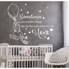 Shop Classic Winnie The Pooh Quote Nursery Wall Decal Overstock 31931709