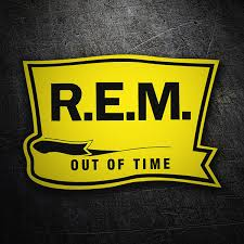 Sticker R E M Out Of Time Muraldecal Com