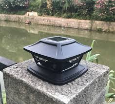 China Solar Led Post Cap Light Outdoor Light For Fence Deck Or Patio Solar Powered Caps Warm White Lighting China Solar Led Post Cap Light Solar Colunm Light