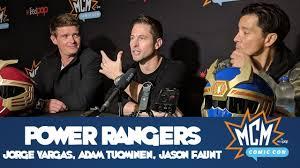 Power Rangers - Jorge Vargas, Adam Tuominen, Jason Faunt - Interview -  YouTube