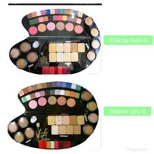 la tulipe make up kit pallete membeli