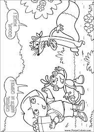 Kleurplaat Zeemeermin Dora