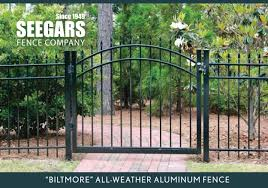 Seegars Fence Company Greenville Privacy Chain Link Fence Installation