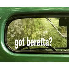 The Decal And Sticker Mafia 2 Got Beretta Decals Gun Sticker Die Cut For Car Window Bumper Rv