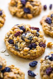 brown er oatmeal raisin cookies