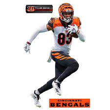 Fathead Tyler Boyd Cincinnati Bengals 3 Pack Life Size Removable Wall Decal