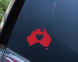 Australia Decal Etsy