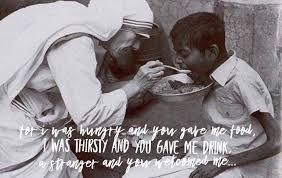 Matthew 25:35-40 - Catholic Advance of California   Facebook