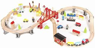 best wooden train sets for kids toy