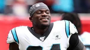 Efe Obada: Carolina Panthers defensive end invested in UK's NFL Academy    NFL News   Sky Sports