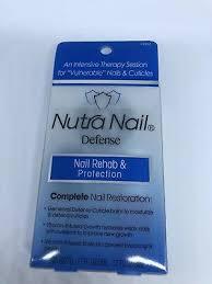 lot of 2 nutra nail defense nail rehab