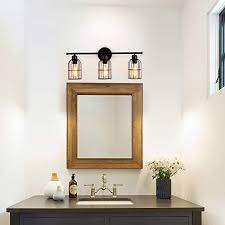 light industrial bathroom vanity light