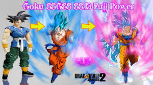 Goku SSGSS Super Saiyan 3 Full Power - Mods X2m Dragon Ball ...