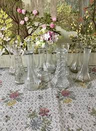 glass vases for centerpiece wedding
