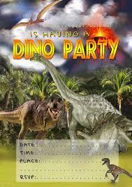 Free Kids Party Invitations Dinosaur Invitation Invitaciones De