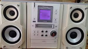 Dàn Panasonic PM37 - Nguyên bản điện... - Dàn loa mini nội địa Nhật