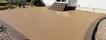 concrete patio floor covering