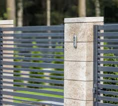 Modular Fence System Roma Classic Concrete Fences Producer Of Fences Posts Blocks And Hollow Bricks Joni House Fence Design Fence Design Concrete Fence