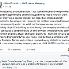 hms home waranty 121 reviews real