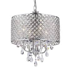 crystal chandeliers lighting the