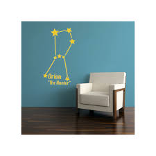 Large Orion Constellation Wall Decal By Inkwood Impressions On