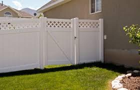 Durable Utah Vinyl Fence Gates Best Vinyl