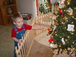 Christmas Tree Fence Solid Wood Gate Or Partition 45659545