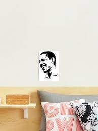 Barack Obama Photographic Print By Magicdogfunny Redbubble